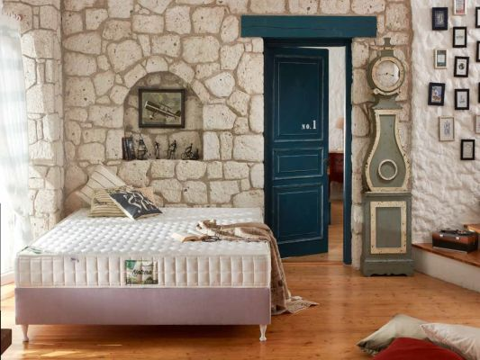 MADRAC ALMERO NATURA 90x200 cm H2 picture