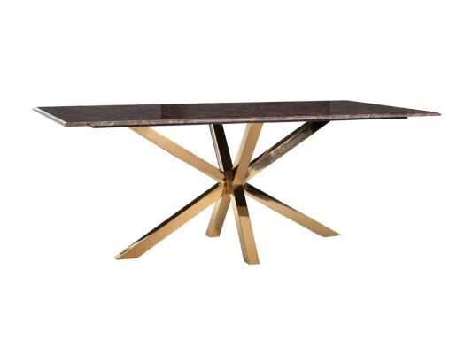 Blagovaonski stol Conrad s umjetnim mramornim imperadorom picture