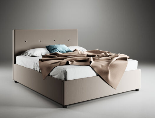 BOXSPRING KREVET AURORA 160x200 cm picture